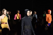 Headscarf Featured On The Runway For Fall 2018