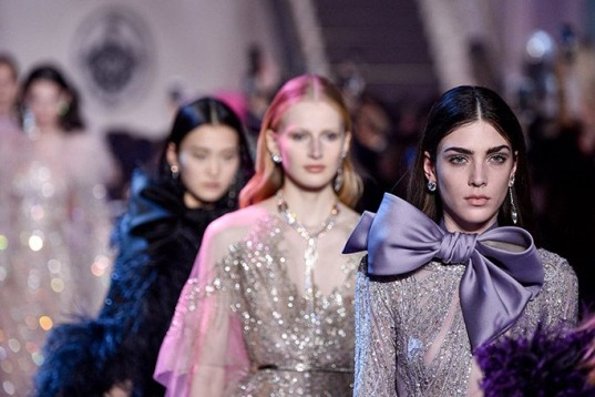 Elie Saab's Spring/Summer 2018 Couture Show Is A Must See